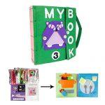 Libros de Tela de Bebes Hechos A Mano